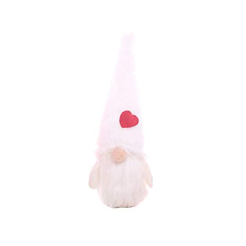 Buran - Gorro de Papá Noel hecho a mano, diseño de gnomo sueco, hecho a mano, decoración para fiestas