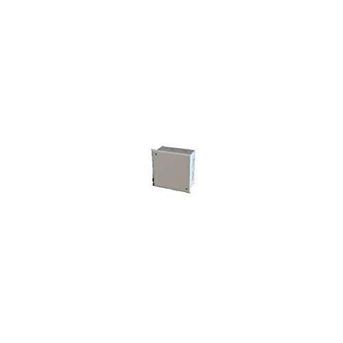 Inbouwdoos voor baksteen (verdeeldoos) met deksel 90 x 90 x 40 mm grijs