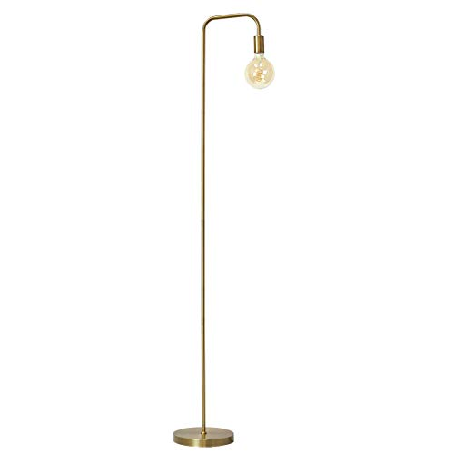 O?Bright Industrial Floor Lamp for Living Room, 100% Metal Lamp, 70