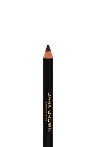LUNACI Barcelona Lápiz de Cejas en 3 Colores (Tono: Dark Brown), Eyebrow Pencil With Dry Blendable Texture