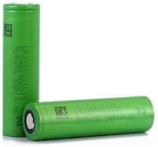 Bateria 18650 Recargable 3.7V 18650 Bater/ía De Litio De Potencia 2500Mah 40A Descarga Monociclo Cigarrillo Electr/ónico Dedicado Bater/ía Recargable 2Pcs