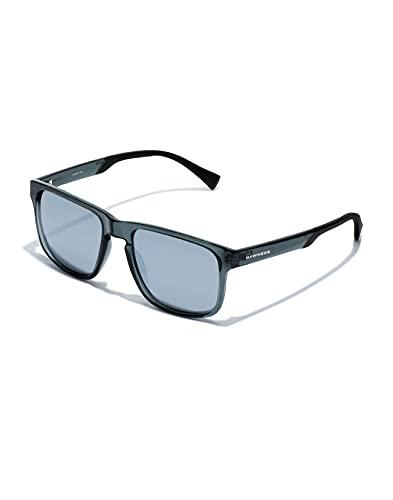 HAWKERS Peak-Grey Chrome Gafas, Transparente, Adulto Unisex Adulto