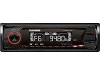 TELEFUNKEN T 460 XCD MP3-Autoradio RDS USB SD/MMC-Slot Front-AUX-in ID3-Tag rot beleuchtete Tasten 12cm Einbautiefe