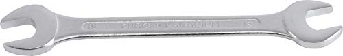 BGS 1184-18x19 | Doppel-Maulschlüssel | SW 18 x 19 mm | CV-Stahl