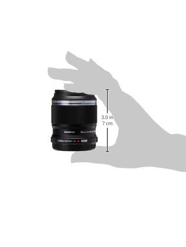 Olympus M.Zuiko Digital ED 30mm F3.5 Macro Lens, for Micro Four Thirds Cameras