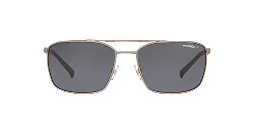 Arnette 0AN3080 Gafas de Sol, Gunmetal Rubber, 62 para Hombre