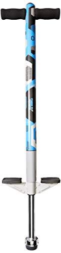 ThinkGizmos Pogo Stick para niños - Saltadores para niños Modelo Aero Advantage - Juguetes niño 5 años a 10 años MAX 36 kg - Stick Jumper (Azul y Negro)