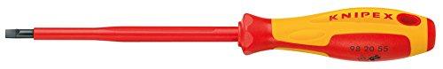 KNIPEX Schraubendreher für Schlitzschrauben 1000V-isoliert (262 mm) 98 20 65