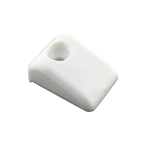 Rok Hardware Furniture Drawer Slide Bumper for Roll Out Shelves (10 Pack)