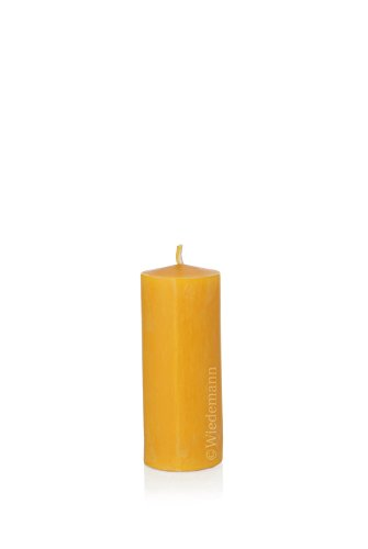 Unbekannt Wiedemann Kerzen, 100% Bienenwachskerzen, 120 x 50 mm, 8 Stück