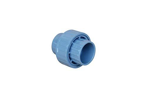 altone PD-01500 - Raccordo per tubo in PVC, 50 mm, grigio