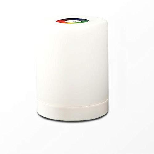DKEE Lámpara de Mesa Luz de Noche Lámpara de Control táctil Warm White + Color Dimmable Lámpara de Noche Dormitorio Recargable Un Cuarto de Estar