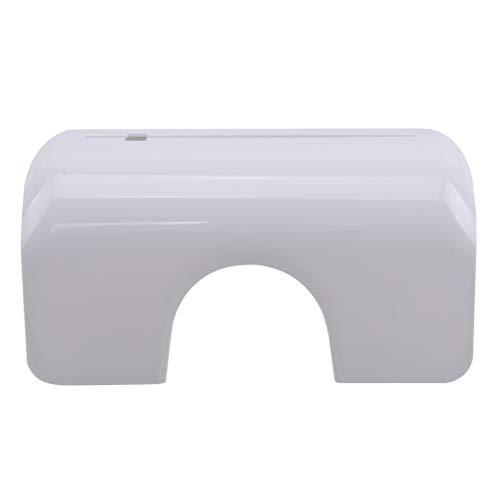#N/A ZNMUCgs Pan Lid Rack Organizer für Küchenschranktüren Wandhalterung Kein Bohren Edelstahl Wandhalterung Schrank Schneidebretthalter,Weiß