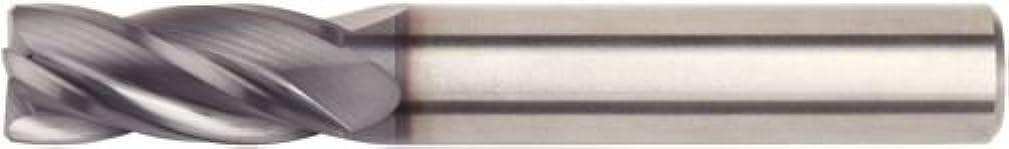 WIDIA Hanita D0041200W016 VariMill D004 GP Roughing/Finishing End Mill, 0.3 mm Chamfer, 12 mm Cutting Dia, Carbide, TiAlN, RH Cut, Weldon, 4-Flute