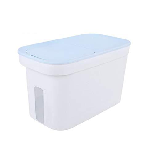 Fantastic Prices! TJLSS Sealed Plastic Rice Bucket, Moisture Proof Storage Box, Home Kitchen Flour, ...