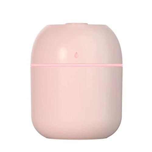 KBSN Mini humidificador, Sistema de humidificación Premium con Tanque de Agua de 200 ml, 2 Modos de Niebla, súper silencioso, Apagado automático y función de luz Nocturna