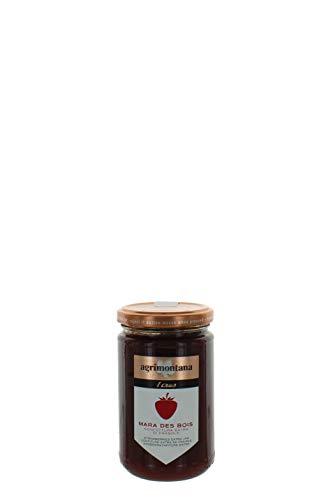 Agrimontana Confitura Extra De Fresa Mara Des Bois - 340 Gramos (Paquete de 2 Piezas)