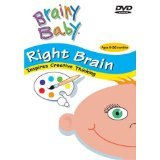 Brainy Baby Infant Learning DVD Right Brain Creative Thinking Classic Edition