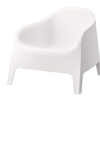 Armchair, Outdoor, White, Product Size: Tested for: 110 kg Width: 79 cm Depth: 81 cm Height: 71 cm Seat Width: 53 cm Seat Depth: 49 cm Seat Height: 37 cm, Materials: Polypropylene plastic