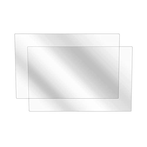 Subaru 2021 Crosstrek (8 in) Screen Protector, BoxWave [ClearTouch Anti-Glare (2-Pack)] Anti-Fingerprint Matte Film Skin for Subaru 2021 Crosstrek (8 in)