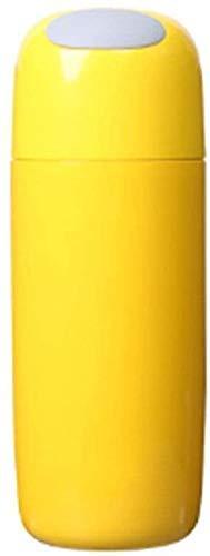 Botella de agua de la taza del acero inoxidable de la botella de bebida Copa portátil de agua creativo 450 ml adecuado for viajes, deportes, oficina (Color: Oro Oro) zhuang94 ( Color : Golden Golden )