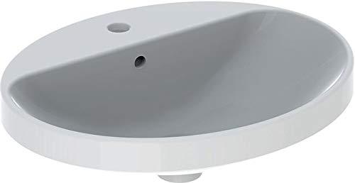 Geberit VariForm lavabo à encastrer Ovale, 550x450mm,...
