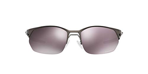 OO4145 Wire Tap 2.0 Sunglasses, Pewter/Prizm Daily Polarized, 60mm