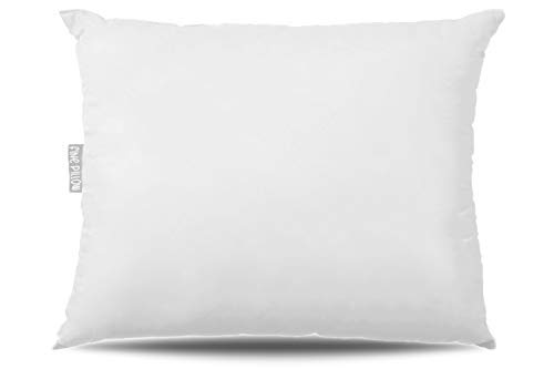 Fine Pillow Back and Side Sleeper Pillow, Plush Durasoft Pillow for Sleeping, Best for Relief in Back and Neck Pain | Soft, Fluffy, Cooling Hypoallergenic Bed Pillow, Highly Durable | White 20X26
