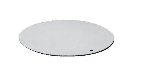 Alu Tortenscheibe Arbeitsplatte mit Loch ø 32 cm