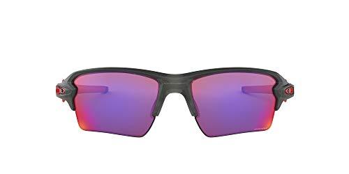 Oakley Flak 2.0 XL Gafas de Sol, no polarizado, Unisex, Multicolor (MatteGreySmoke w/Prizm Road), 0