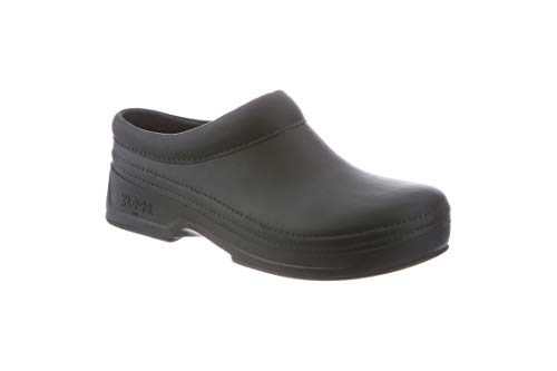 Klogs Men's Edge Comfort Slip On Open Back Casual Clog - Black 7 D(M) US