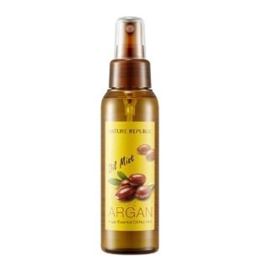 ポジティブボート挑むNATURE REPUBLIC Argan Essential Oil Hair Mist 105ml ネイチャーリパブリック アルガンエッセンシャルオイル ヘアミスト [並行輸入品]