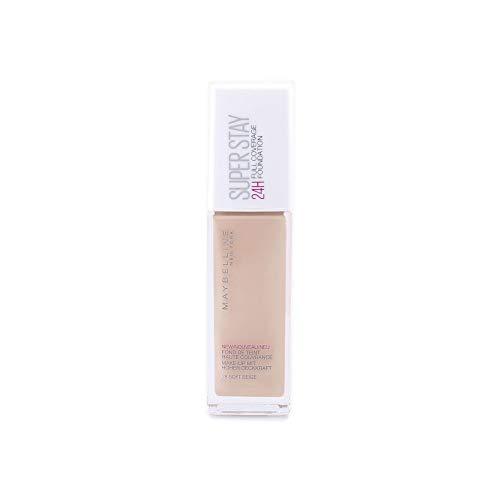 Maybelline Superstay Photofix 24H - 28 Soft - Foundation base de maquillaje - Base de maquillaje (Soft, Piel Iluminada, Piel Medio, Piel mixta, Piel normal, 30 mm, 30 mm, 112 mm)