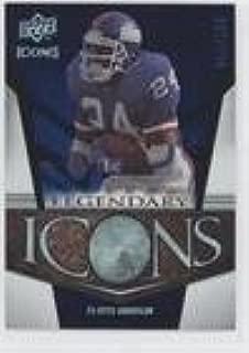 Ottis Anderson #233/250 (Football Card) 2008 Upper Deck Icons - Legendary Icons - Rainbow Blue #LI15