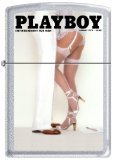Zippo Playboy August 1978 Cover Satin Chrome Windproof Lighter New Rare #2