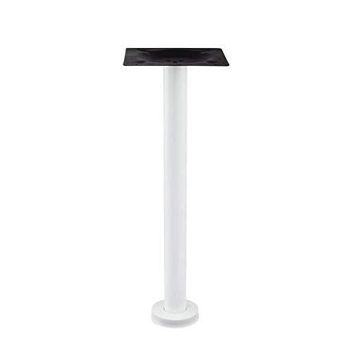 ZXL tafelpoten van metaal, tafelpoten van roestvrij staal, elektrostatische sproeikop met hoge temperatuur, perfect voor de tafel, 25 x 25 cm