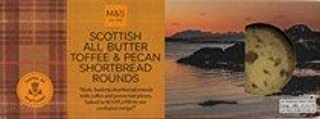 M&S / Marks & Spencer | Scottish All Butter Toffee & Pecan Shortbread Rounds 180g | From the UK