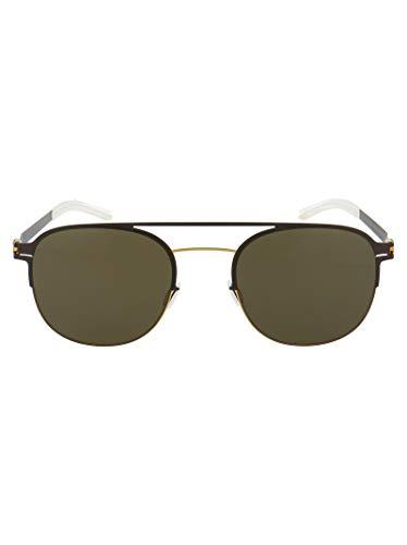 Mykita Luxury Fashion Damen PARK122GOLD Gold Acetat Sonnenbrille | Jahreszeit Permanent