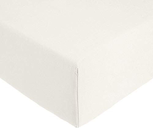 Amazon Basics AB 200TC Cotton - Light, 100% Baumwolle, Elfenbein, 140 x 200 x 30 cm