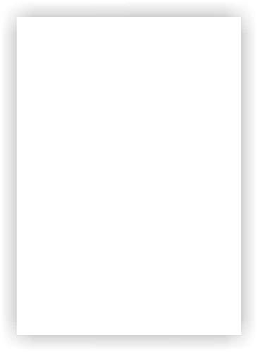 Magnet-Folie in DIN A4 I magnetisch, weiß beschichtet I beschreibbar bedruckbar I für Kfz Auto LKW I Lager-Schild I Tür-Schild I mag_113