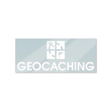 geo-versand Geocaching Logo - Autoaufkleber Sticker, Car Sticker, Aufkleber fürs Auto Geocaching Logo