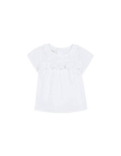 Gocco Blusa Manga Corta PLUMETI (Blanco WA), 86 (Tamaño del Fabricante:12/18) para...