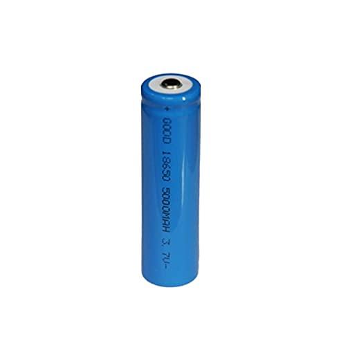 RitzyRose 18650 Batería De Iones De Litio De 3.7v 5000mah, Recargable para Herramientas De Dispositivos PortáTiles De Linterna LED 1PCSBattery