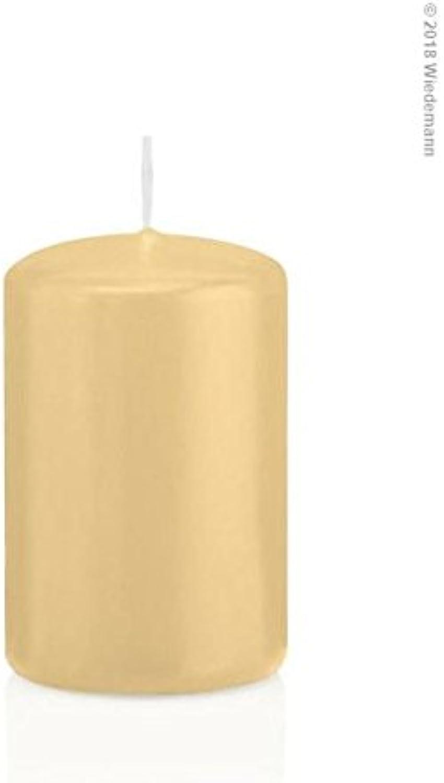 24x Bougies Pilier en cellophane 80 50mm (Champagne)