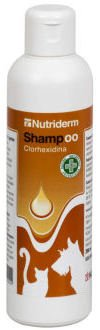 König D-1003 Nutriderm Champú con Clorhexidina 3% - 200 ml