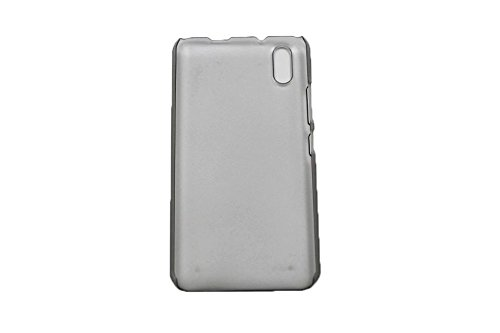 Crystal Edel Plastik Kunststoff Transparent Cover Schutzhülle für Ulefone Paris / Paris X Smartphone Tasche Hülle Etui Case (Clear Schwarz)