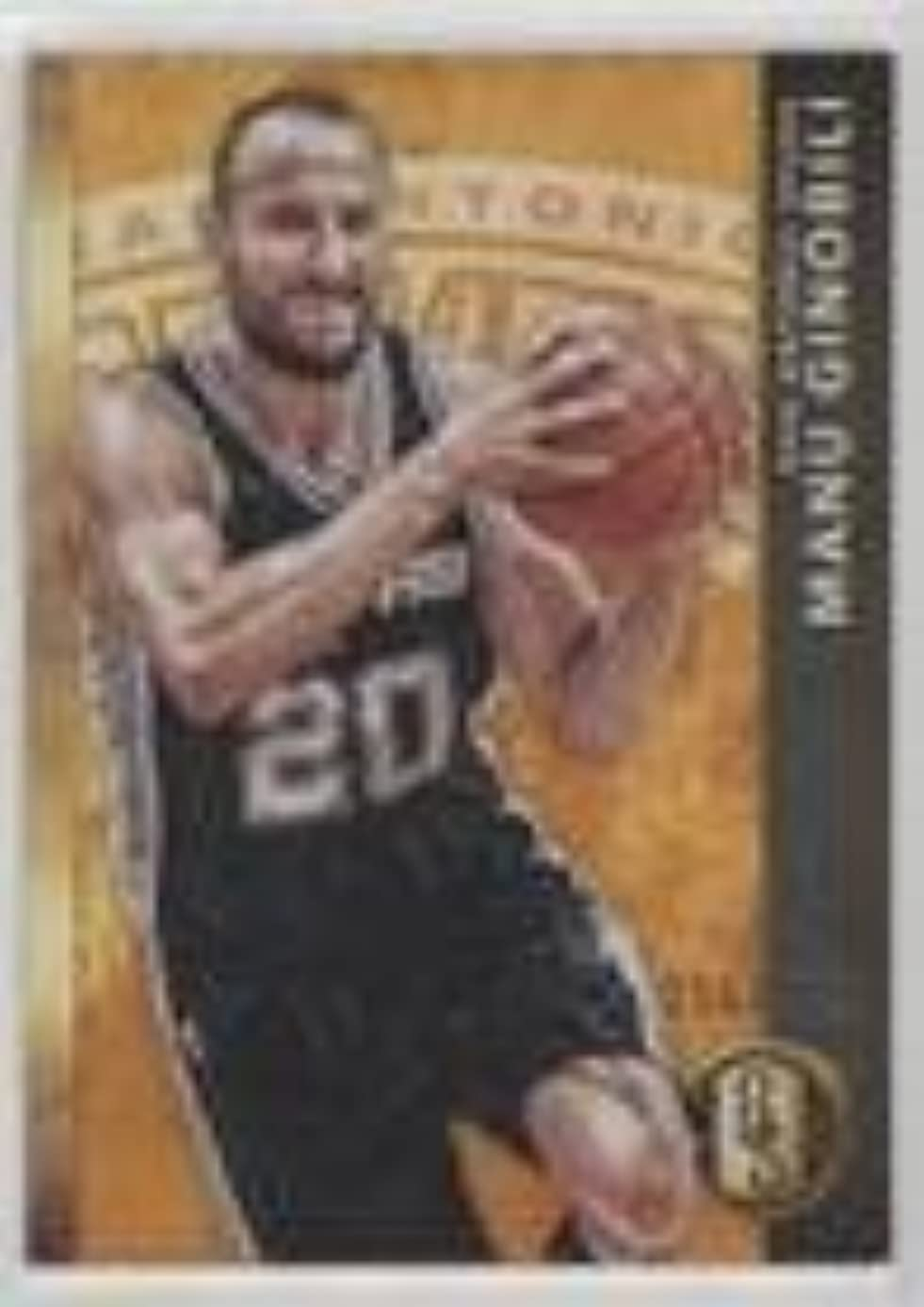Manu Ginobili #/299 (Basketball Card) 2015-16 Panini Gold Standard - [Base] #12