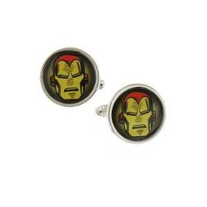 Iron Man Gesicht Bild Manschettenknöpfe