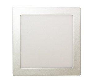 ElectroDH 81612BDIA DH Downlight LED cuadrado BL.18W EMPOTR.DIA