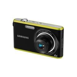 Samsung PL PL90 Kompaktkamera 12,4 MP 1/2.3 Zoll CCD 4000 x 3000 Pixel Schwarz, Grün - Digitalkameras (12,4 MP, 4000 x 3000 Pixel, 1/2.3 Zoll, CCD, 4X, Schwarz, Grün)